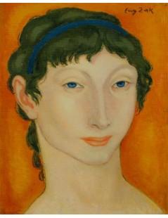 Dziewczyna z błękitną wstążką