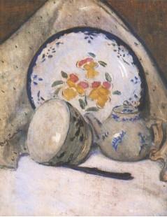 Martwa natura z chińską porcelaną