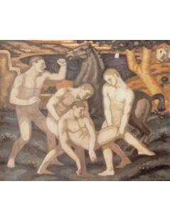 Tytuł: Ranny, Autor: Stanisław Wyspiański
