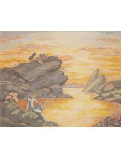 Tytuł: Rybak, Autor: Stanisław Wyspiański