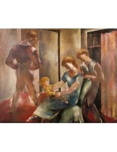 Tytuł: Szczęśliwa rodzina, Autor: Stanisław Wyspiański