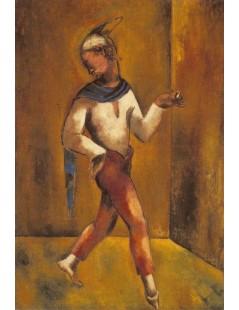 Tytuł: Tancerz, Autor: Stanisław Wyspiański