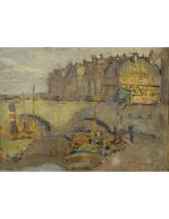 Tytuł: Widok z Paryża, Autor: Stanisław Wyspiański