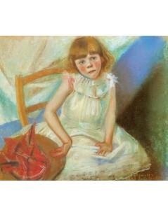 Dziewczynka z czerwonym kapeluszem