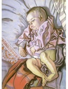 Tytuł: Śpiący Staś, Autor: Stanisław Wyspiański
