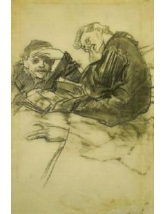 Podwójny portret Józefa Mehoffera