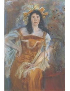 Portret Honoraty Leszczyńskiej w roli Katarzyny w