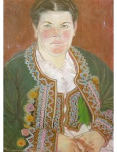 Portret żony w serdaku