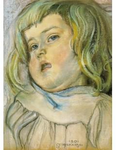 Tytuł: Studium dziecka, Autor: Stanisław Wyspiański