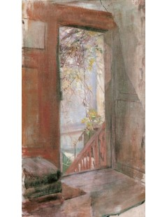 Tytuł: Weranda, Autor: Stanisław Wyspiański