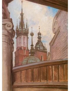 Wieże kościoła Mariackiego
