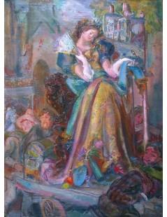 Dama z wachlarzem