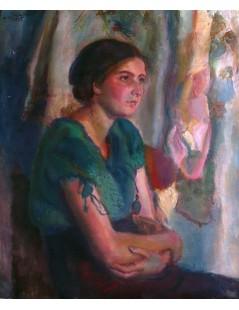 Dziewczyna w zielonej bluzce