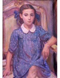 Tytuł: Portret Barbary Pochwalskiej, Autor: Kasper Pochwalski