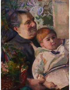 Tytuł: Portret kobiety z dzieckiem, Autor: Kasper Pochwalski