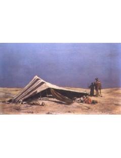 Tytuł: Na pustyni, Autor: Alfred Wierusz Kowalski
