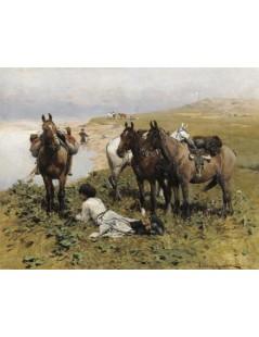 Odpoczynek Kozaków