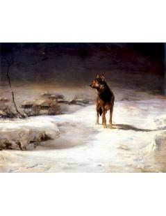Tytuł: Wilk, Autor: Alfred Wierusz Kowalski