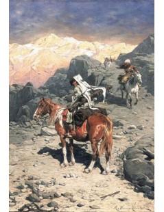 Czerkiesi w górach