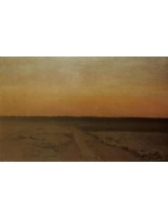 Tytuł: Przed wschodem słońca. Jutrzenka, Autor: Józef Chełmoński