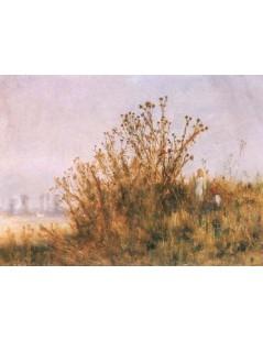 Tytuł: Wielki oset, Autor: Józef Chełmoński