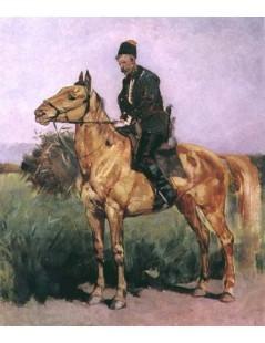Tytuł: Zaporożec, Autor: Józef Chełmoński