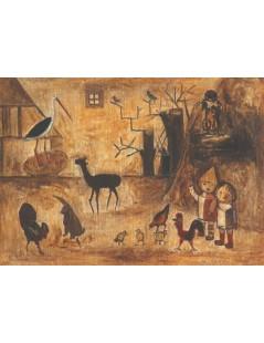 Tytuł: Dziecinne Zoo, Autor: Tadeusz Makowski