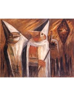 Tytuł: Maski.jpg, Autor: Tadeusz Makowski