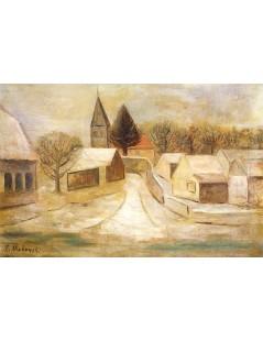 Tytuł: Śnieg.jpg, Autor: Tadeusz Makowski