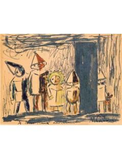 Tytuł: Pięcioro dzieci z psem, Autor: Tadeusz Makowski