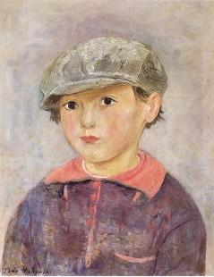 Tytuł: Portret małego chłopca.jpg, Autor: Tadeusz Makowski