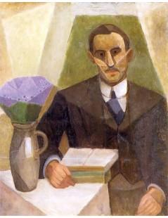 Tytuł: Portret Zygmunta Lubicz, Autor: Tadeusz Makowski