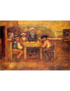 Tytuł: Posiłek chłopów.jpg, Autor: Tadeusz Makowski