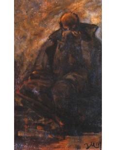 Tytuł: Stary, Autor: Jacek Malczewski