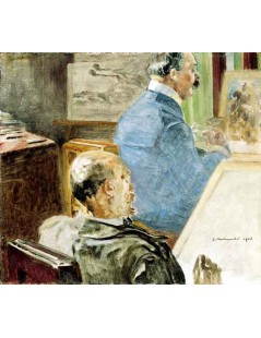 Tytuł: W pracowni artysty, Autor: Jacek Malczewski
