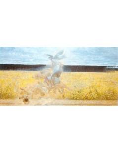 Tytuł: W tumanie, Autor: Jacek Malczewski