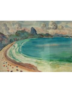 Tytuł: Plaża w Rio de Janeiro, Autor: Rafał Malczewski