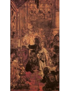 Tytuł: Śluby Jana Kazimierza, Autor: Jan Matejko