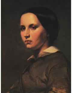 Tytuł: Portret Marii Matejko, Autor: Jan Matejko