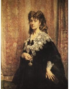 Tytuł: Portret Marii Pusłowskiej, Autor: Jan Matejko