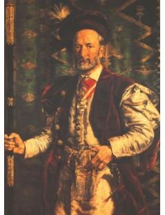 Tytuł: Portret Mikołaja Zyblikiewicza, Autor: Jan Matejko