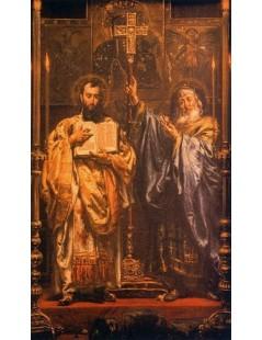 Tytuł: Św. Cyryl i św. Metody, Autor: Jan Matejko