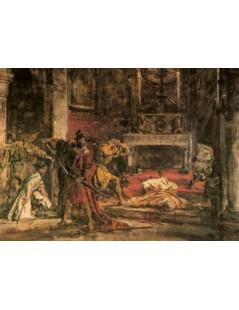 Tytuł: Zabójstwo św. Stanisława, Autor: Jan Matejko