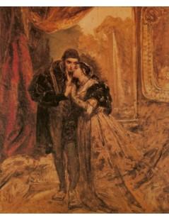 Tytuł: Zygmunt August i Barbara Radziwiłłówna, Autor: Jan Matejko
