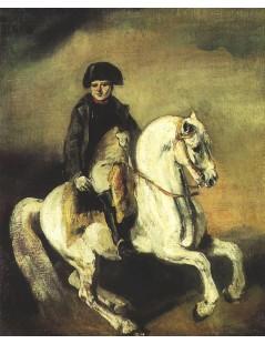Tytuł: Napoleon na koniu, Autor: Piotr Michałowski