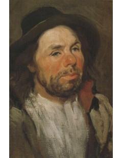 Tytuł: Portret chłopa w kapeluszu, Autor: Piotr Michałowski
