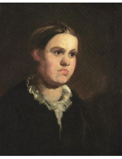 Tytuł: Portret kobiety, Autor: Piotr Michałowski