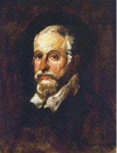 Tytuł: Portret mężczyzny, Autor: Piotr Michałowski