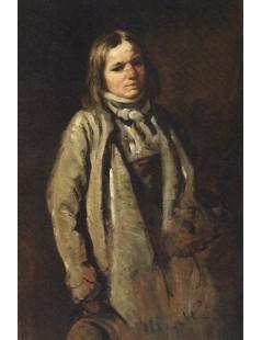 Tytuł: Studium chłopca wiejskiego, Autor: Piotr Michałowski