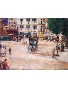 Tytuł: Plac Pigalle w Paryżu.jpg, Autor: Józef Mehoffer